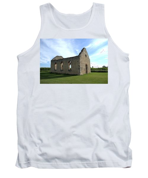 Old Stone Church 2 Tank Top by Bonfire Photography