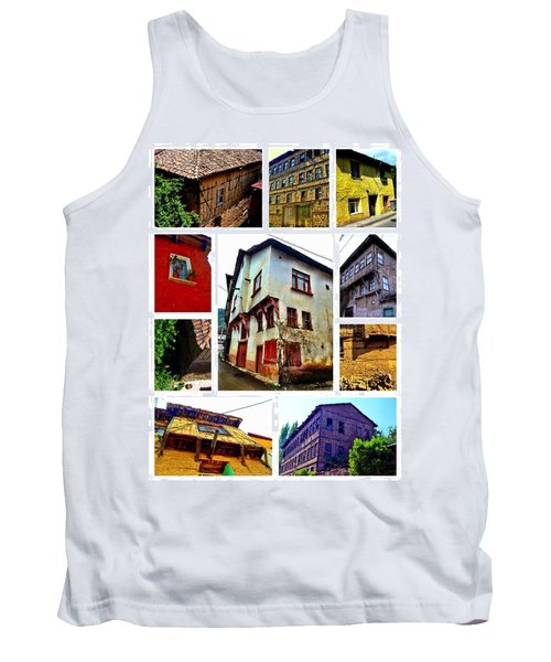 Old Turkish Houses Tank Top by Zafer Gurel