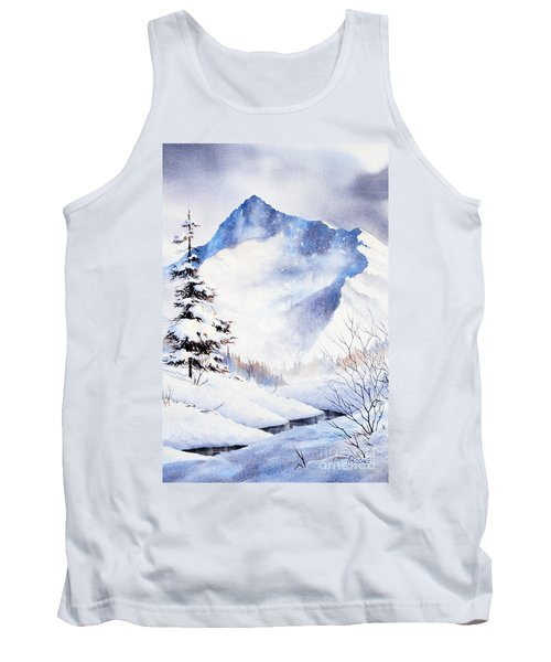 Tank Top featuring the painting O'malley Peak by Teresa Ascone