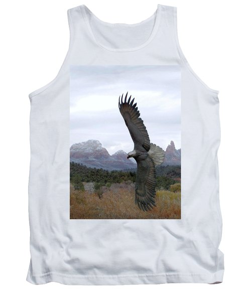On Eagles Wings Tank Top