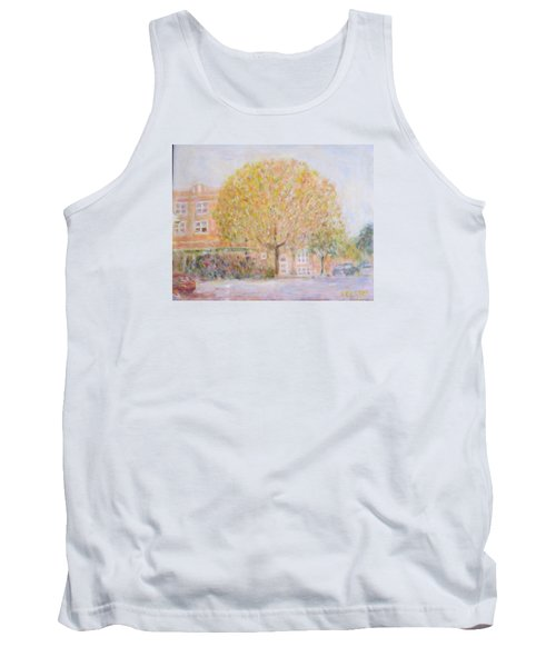 Leland Avenue In Chicago Tank Top