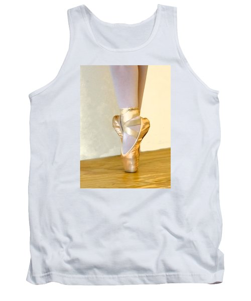 Ballet Toes On Point Tank Top