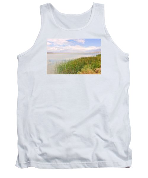 Tank Top featuring the photograph On Shore by Marilyn Diaz