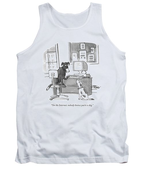 On The Internet Tank Top