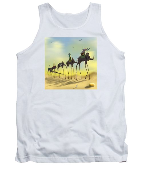 On The Move 2 Without Moon Tank Top by Mike McGlothlen