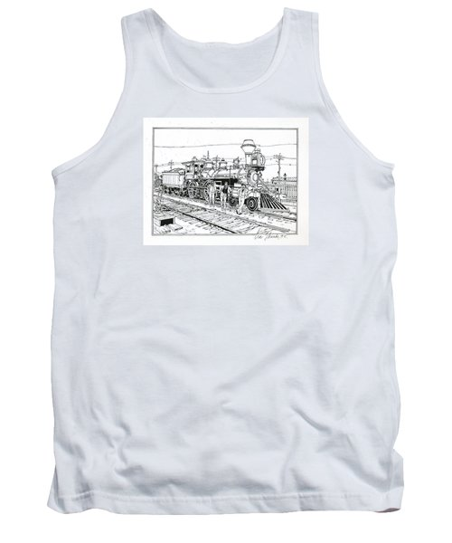 On The Old Pennsy Tank Top by Ira Shander