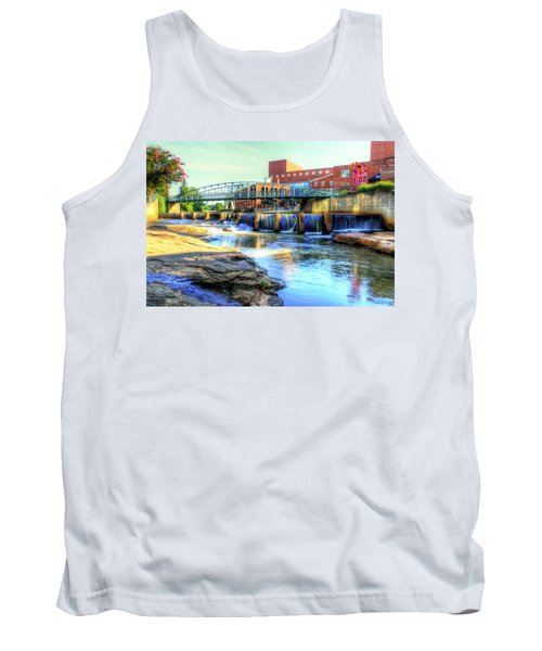 On The Reedy River In Greenville Tank Top