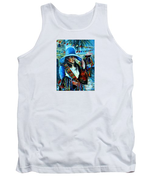 On The Streets Of Bucerias. Part Two Tank Top by Anna  Duyunova