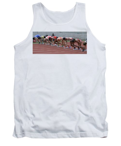 On Your Marks Tank Top