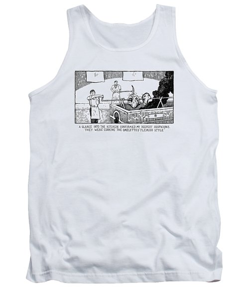 One Glance Into The Kitchen Confirmed My Deepest Tank Top