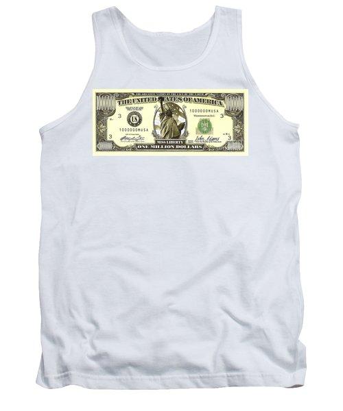 One Million Dollar Bill Tank Top