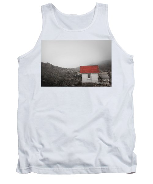 Tank Top featuring the photograph One Room In A Fog by Ellen Cotton