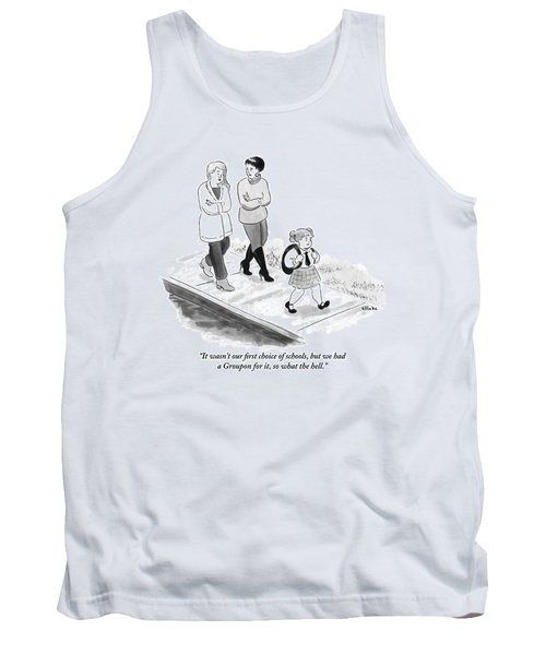 One Woman To Another As They Walk Down The Street Tank Top