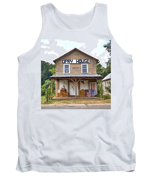 Tank Top featuring the photograph Opry House - Square by Gordon Elwell