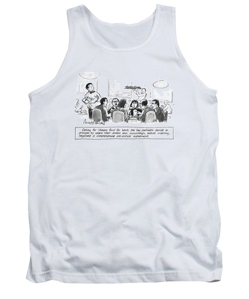 Opting For Chinese Food For Lunch Tank Top