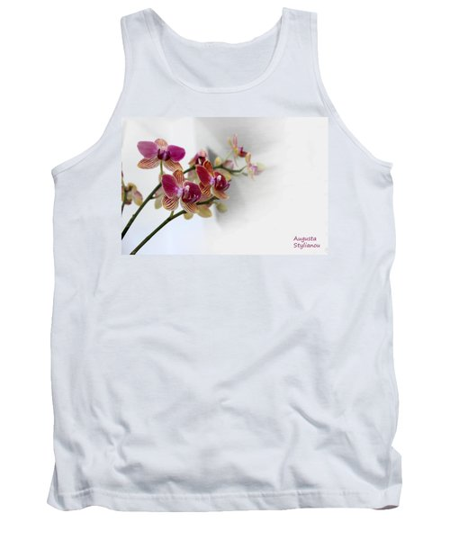 Orchid Branch Tank Top