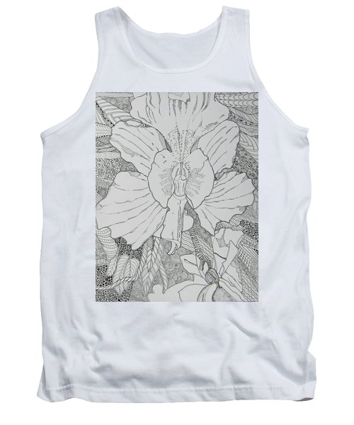 Orchid In Disguise Tank Top