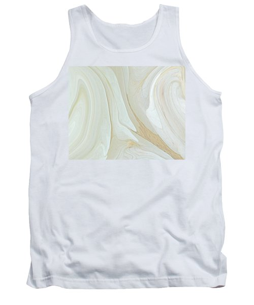 Orchids In Snow  C2014 Tank Top by Paul Ashby