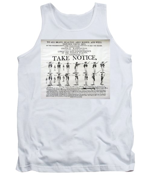 Order Of Battle - Take Notice Brave Men Tank Top