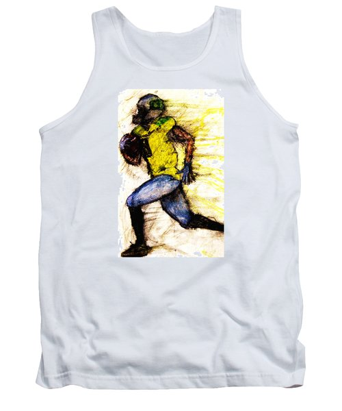 Oregon Football 2 Tank Top by Michael Cross