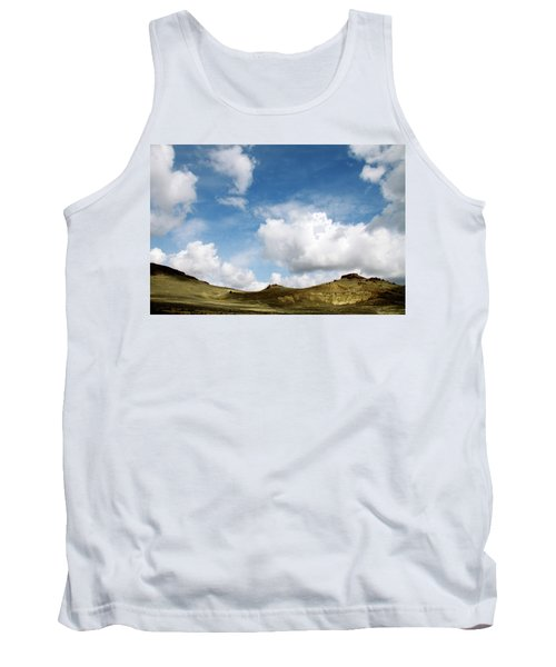Oregon Trail Country Tank Top by Ed  Riche