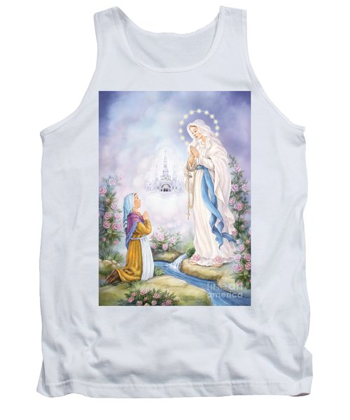 Our Lady Of Lourdes Tank Top