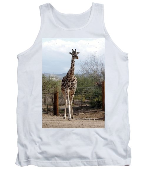 Out Of Africa  Giraffe 1 Tank Top