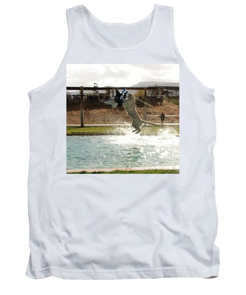 Out Of Africa Tiger Splash 7 Tank Top