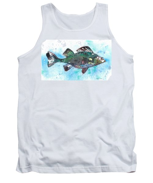 Tank Top featuring the painting Out Of School by Barbara Jewell