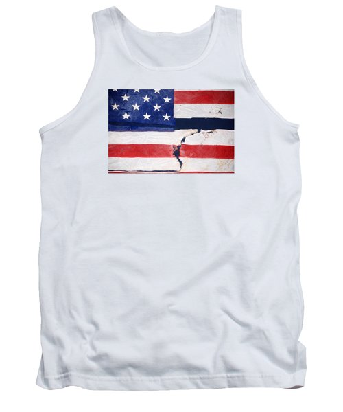 Tank Top featuring the photograph Out Of The Rubble  September 11 2001 by John Schneider