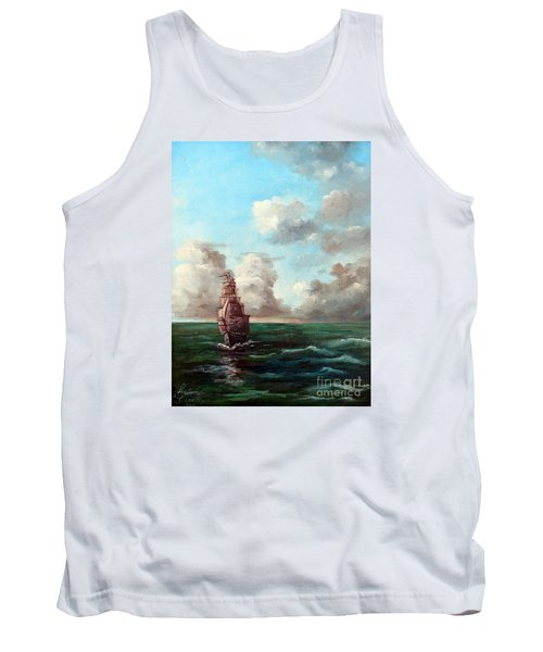 Outrunning The Storm Tank Top
