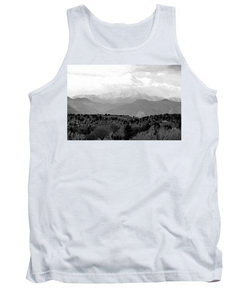 Tank Top featuring the photograph Over The Hills To Pikes Peak by Clarice  Lakota