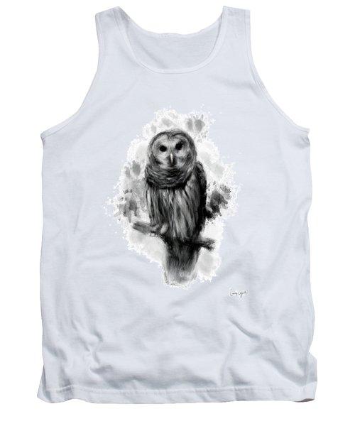 Owl's Portrait Tank Top