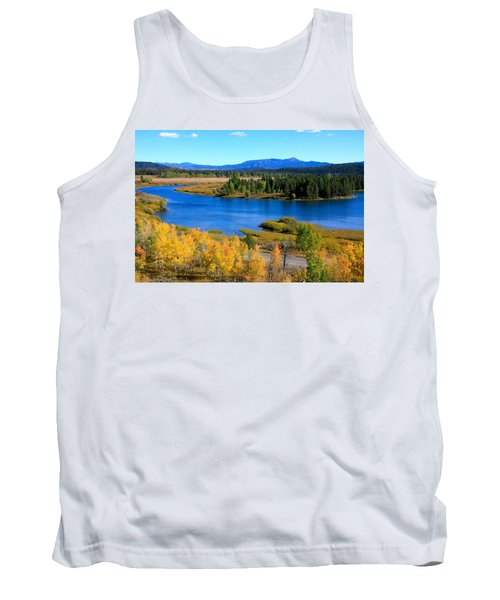 Oxbow Bend, Grand Teton National Park Tank Top