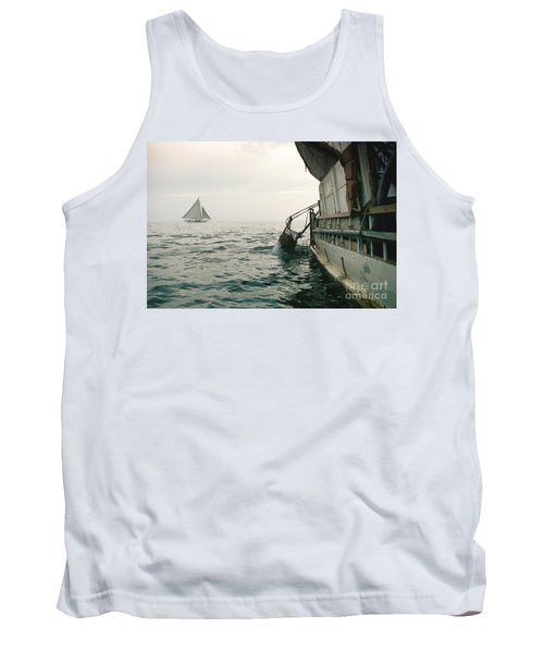 Oyster Dredging Tank Top