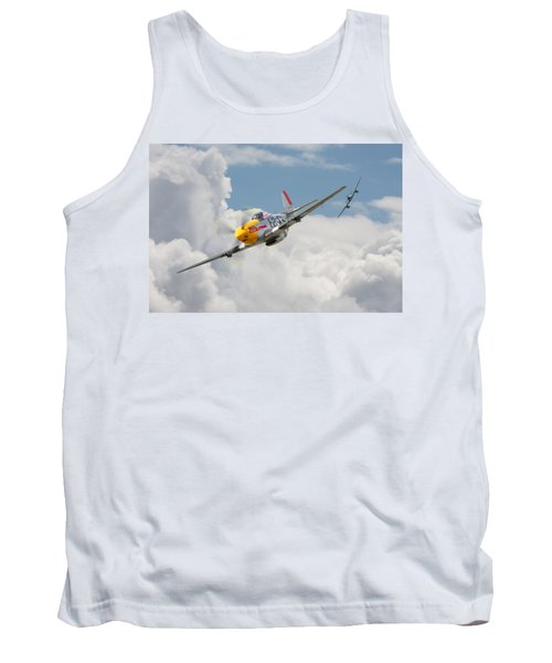 P51 Mustang And Me 262 Tank Top