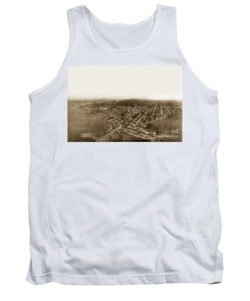 Pacific Grove 1200 From Feet Above Lovers Point And Monterey Bay 1906 Tank Top