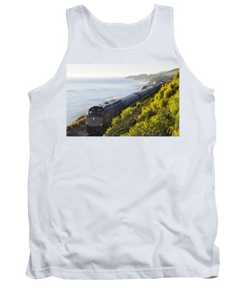 Pacific Surfliner Along The Central Coast Tank Top