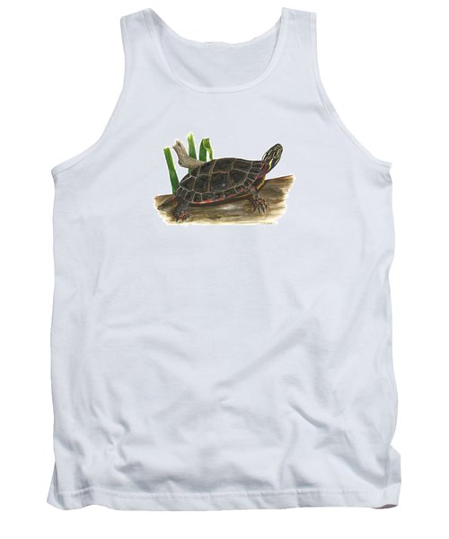 Painted Turtle Tank Top