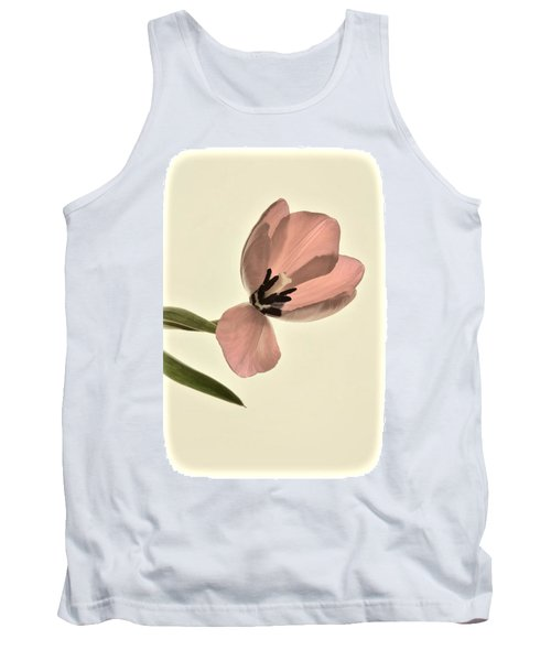 Pale Pink Tulip Tank Top