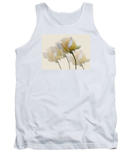 Tank Top featuring the photograph Pale Yellow by Rosalie Scanlon