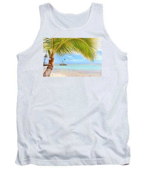 Tank Top featuring the photograph Palm Tree by Kristine Merc