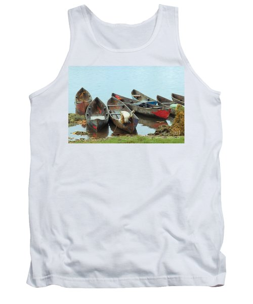 Parking Boats Tank Top