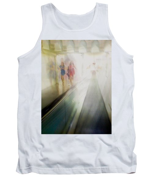Tank Top featuring the photograph Party Girls by Alex Lapidus