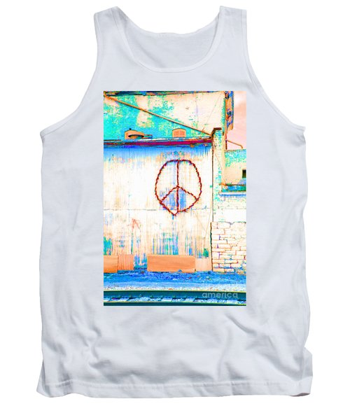 Peace 1 Tank Top by Minnie Lippiatt
