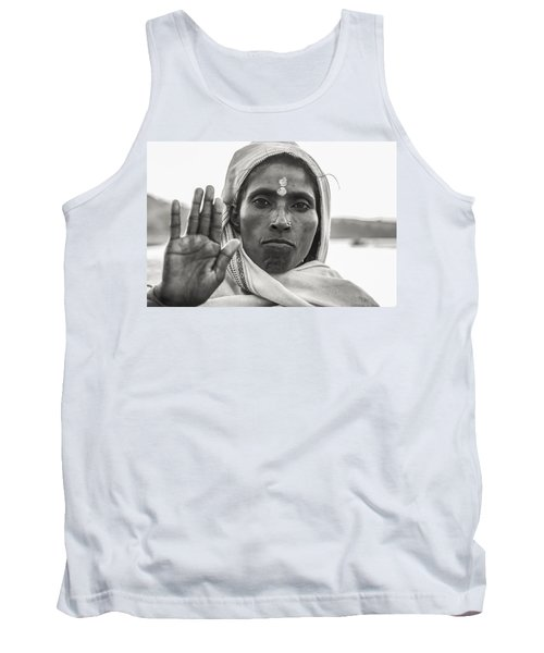 Peace Be With You Tank Top by Valerie Rosen