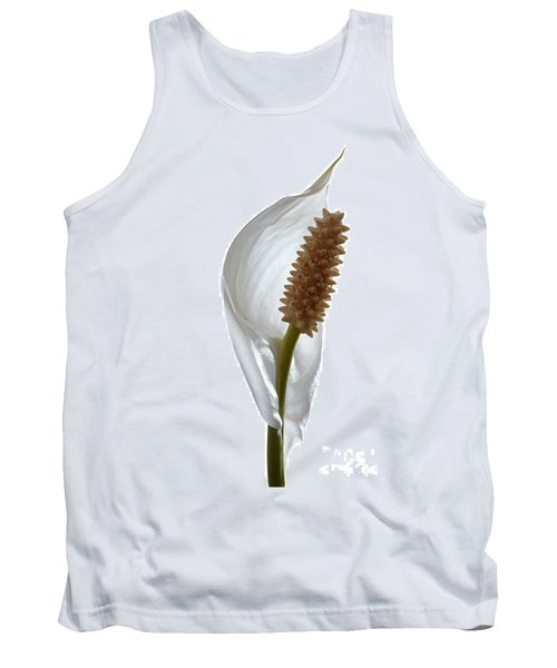 Peace Lily. Tank Top