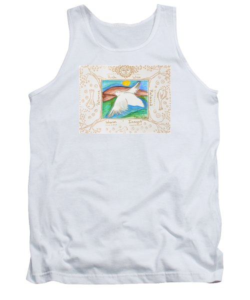 Tank Top featuring the painting Peace Of Heaven by Cassie Sears