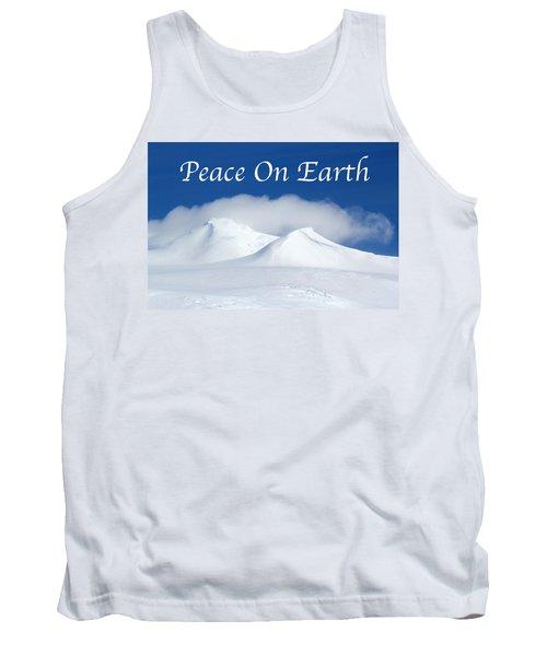 Peace On Earth Card Tank Top