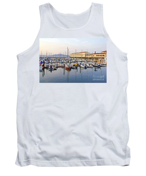 Tank Top featuring the photograph Peaceful Marina by Kate Brown